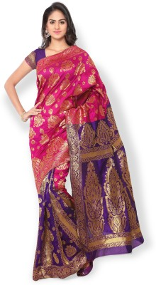 Riva Self Design Fashion Art Silk Sari
