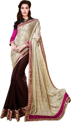 Pihar Embriodered Fashion Georgette Sari