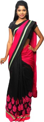 Avantika Embriodered Fashion Handloom Georgette Sari