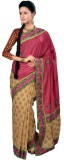 RB Sarees Embroidered Chanderi Tussar Si...