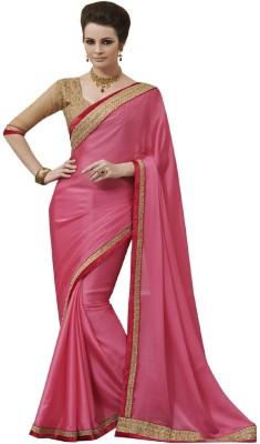 Styleon Self Design Fashion Georgette Sari