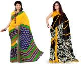 EthnicQueen Floral Print Fashion Georget...