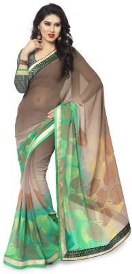 Kavyasarees Self Design Fashion Chiffon Sari