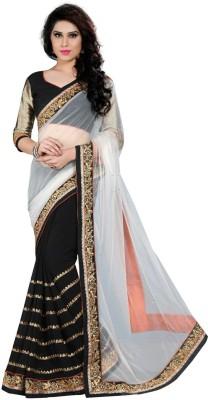 Sarang Dispatch Embriodered Bollywood Georgette Sari
