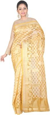 SSPK Woven Fashion Handloom Banarasi Silk Sari