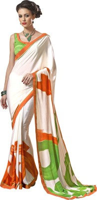 Lovelylook Printed Fashion Crepe Sari