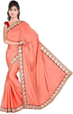 sanginienterprise Embriodered Fashion Chiffon Sari