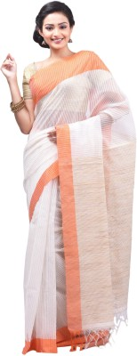 Creation Striped Fashion Handloom Cotton Sari