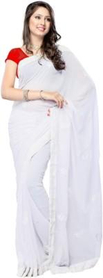 SRK Embriodered Bollywood Georgette Sari