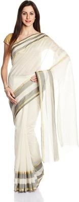 Satrang Solid Fashion Art Silk Sari