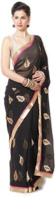 Rinkey Sarees Applique Fashion Chiffon Sari