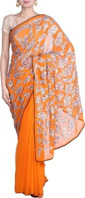 REME Embellished Fashion Georgette Sari