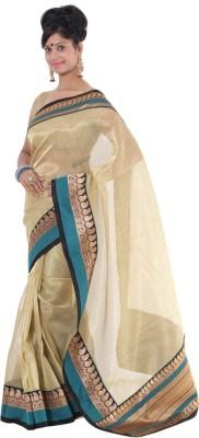 Vikrant Collections Woven Gadwal Tissue Silk Sari