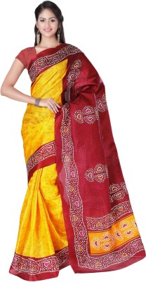 Nityagata Self Design Thanjavur Art Silk Sari