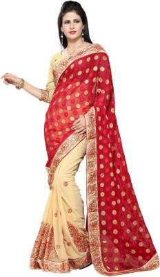 Rachaiyta Self Design Bollywood Chiffon Sari