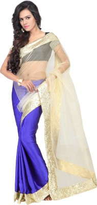 Shree Parmeshwari Self Design Bollywood Net Sari
