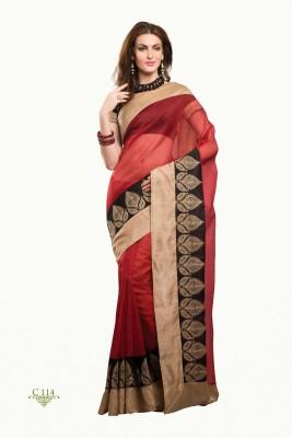 La,ethnic Embriodered Fashion Handloom Cotton Sari
