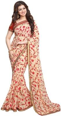 Hasti Urmilla Floral Print Daily Wear Georgette Sari