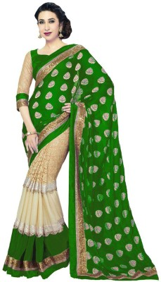 Shree Plus Embriodered Bollywood Georgette Sari