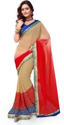 Anwesha Sarees Printed Fashion Georgette Sari