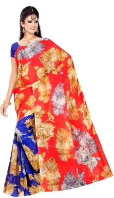 rang tarang fab Printed Daily Wear Pure Georgette Sari