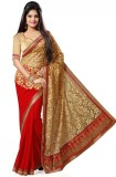 SareeShop Embroidered Bollywood Brasso F...