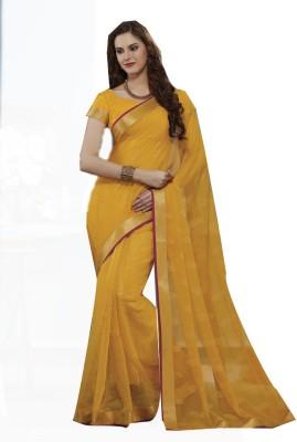 Rajhans Fashion Embellished Fashion Chiffon Sari