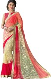 Hypnotex Embroidered Fashion Net Saree (...