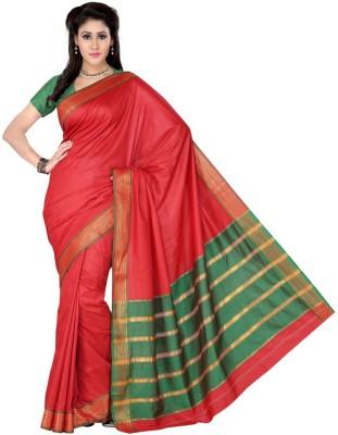 Sagar Exports Self Design Paithani Polycotton Sari