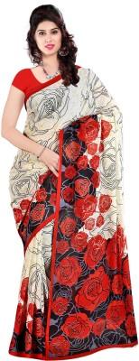 Fashion Trendz Floral Print Fashion Georgette Sari