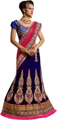 Triveni Self Design Fashion Velvet Sari