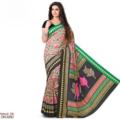 Peecaso Self Design Daily Wear Art Silk Sari