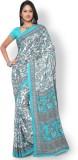 Triveni Printed Fashion Crepe, Silk Sare...