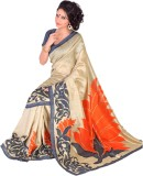 DESIGN WILLA Printed Fashion Jute Saree ...
