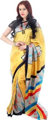 Fashion Mix Graphic Print Murshidabad Pure Silk Sari