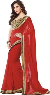 Melluha Embriodered Bollywood Georgette Sari