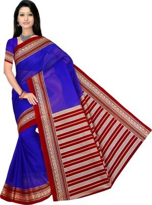 Kjs Self Design Bollywood Cotton Sari