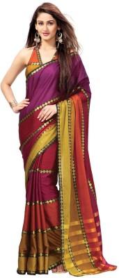 Signature Fashion Self Design Bollywood Cotton Sari