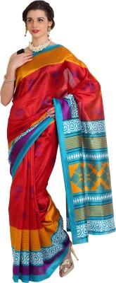 Aaboli Printed Fashion Art Silk Sari