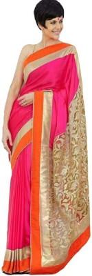 alakhenterprise Embriodered Bollywood Handloom Georgette Sari