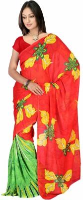 Jaipur Kurti Printed Daily Wear Georgette Sari