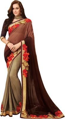 Shop Avenue Embellished Fashion Chiffon Sari