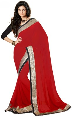 Pari Fashion Self Design Bollywood Chiffon Sari