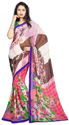 Li Te Ra Printed Fashion Georgette Sari