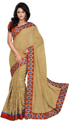 Morli Self Design Fashion Brasso Sari