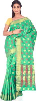 Ankisha Solid Fashion Tussar Silk Sari