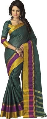 M.S.Retail Plain Fashion Cotton Sari