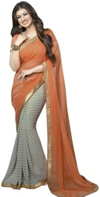Aaradhya Shop Printed Fashion Pure Georgette Sari