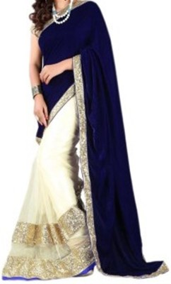 Bikaw Embriodered Fashion Velvet Sari