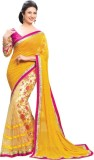 Angel Fab Printed Bollywood Georgette Sa...